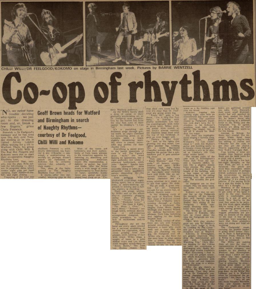 naugthy rhythms II